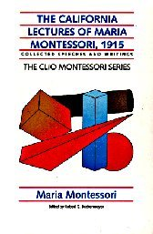 bibliographie-montessori-conferences-californie-the-california-lectures-1915
